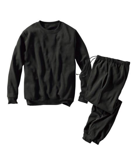 【メンズ】 裏起毛上下スウェットスーツ 大きいサイズメンズ ...