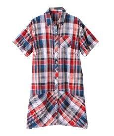 <ニッセン> テンセル麻シャーリングシャツ (大きいサイズレディース)ブラウスplus size 27