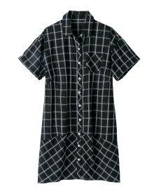 <ニッセン> テンセル麻シャーリングシャツ (大きいサイズレディース)ブラウスplus size 29