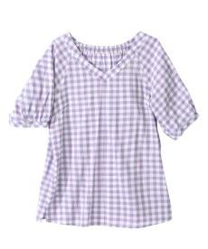 <ニッセン> テンセル麻シャーリングシャツ (大きいサイズレディース)ブラウスplus size 30