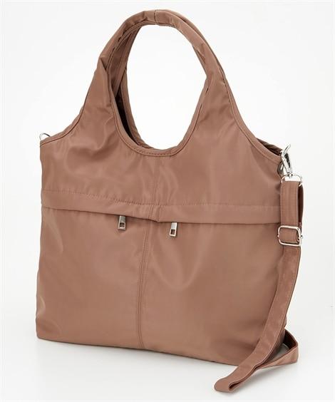 10ポケット2WAYバルーントートバッグ(A4対応) トートバッグ・手提げバッグ, Bags