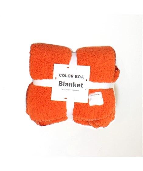 カラーが選べるあたたかシープ調ボアのマルチブランケット 毛布...