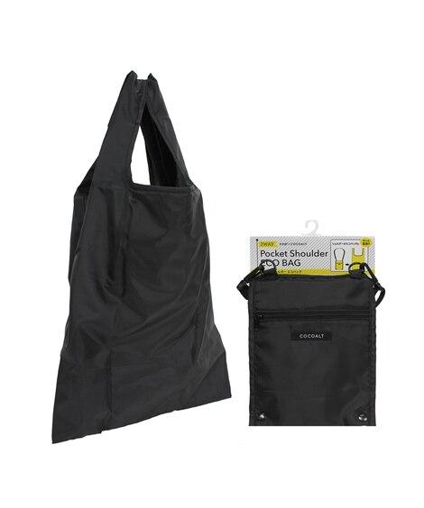 【再入荷!】ポケットショルダーエコバッグ エコバッグ・買い物袋, Bags