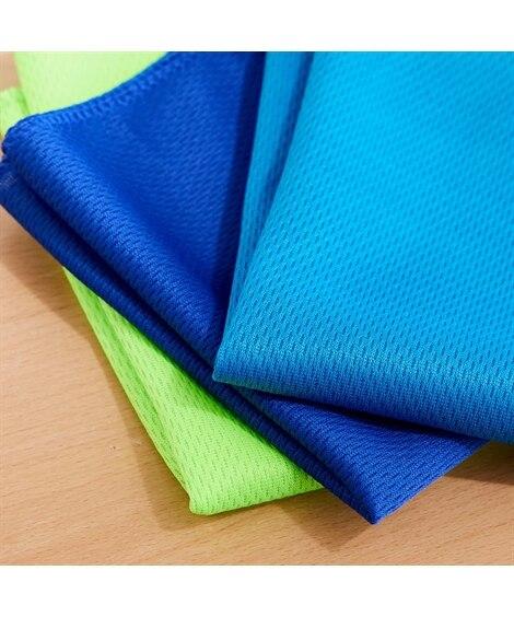 ぬらして絞ってふるだけのクールタオル 3色セット タオル, Towels(ニッセン、nissen)