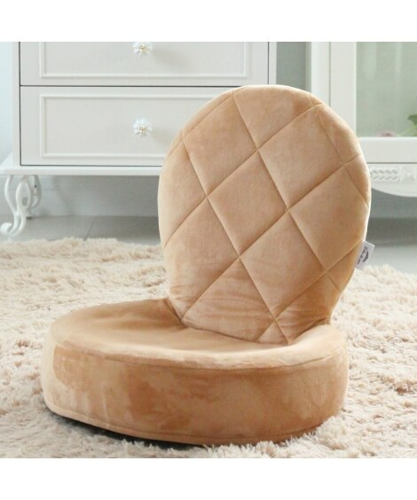 パステルカラーが可愛いリボン付き座椅子 座椅子・ビーズクッシ...