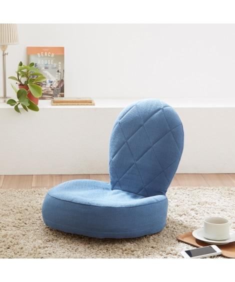 シンプルデザインのリビング座椅子 座椅子・ビーズクッション