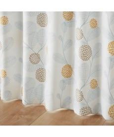 【送料無料!】北欧調リーフ柄遮光カーテン 遮光カーテンの商品画像