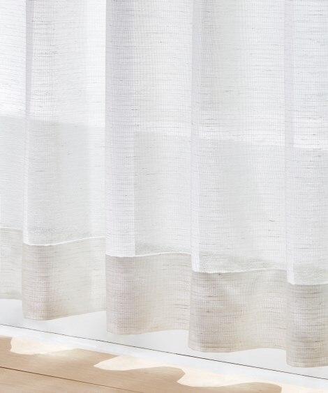 <ニッセン> 防炎。ナチュラルレースカーテン レースカーテン・ボイルカーテン 価格:9709円商品 23