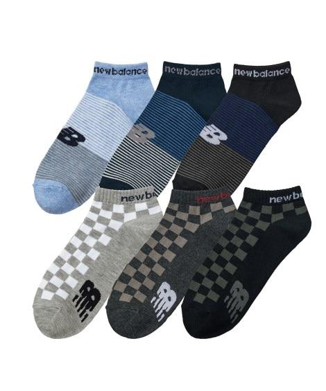 new balance ショートソックス6足組(メンズ) メンズ靴下, Men's Socks
