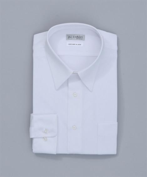 <ニッセン>【紳士服】 ノーアイロン長袖ストレッチiシャツ(レギュラーカラー) メンズワイシャツ・カッターシャツ