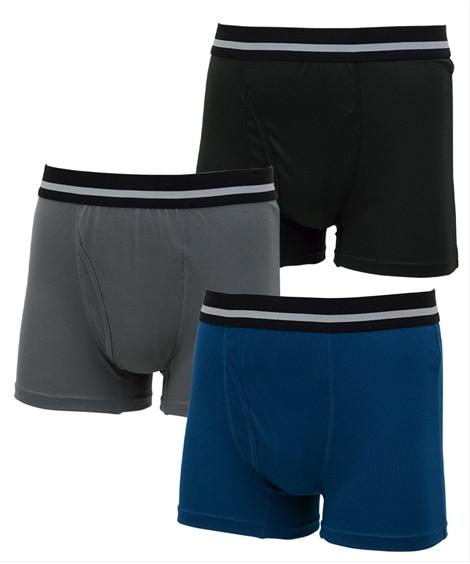 吸汗速乾ハニカムメッシュボクサーパンツ3枚組 ボクサーパンツ, trunks, boxerbriefs