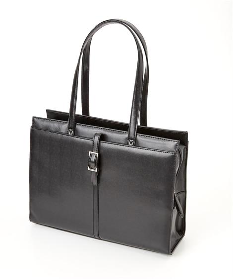 タテバックルデザインレディスビジネスバッグ(A4対応) トー...