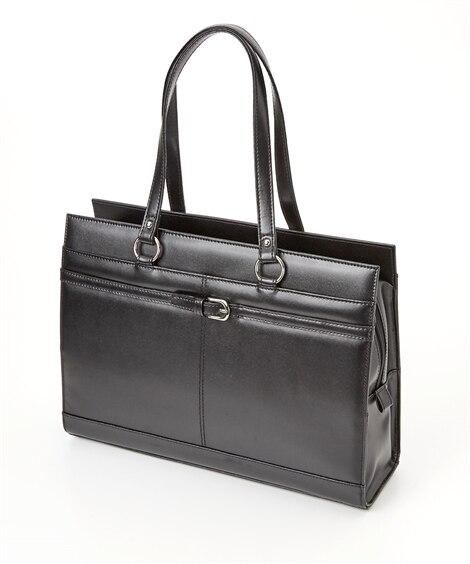 ヨコバックルデザインレディスビジネスバッグ(A4対応) トー...