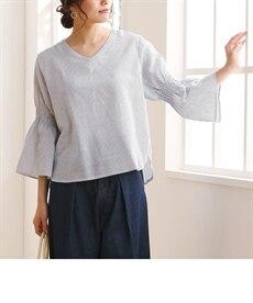 <ニッセン>共布リボンベルト付テーパードパンツ (レディースパンツ)pants 15