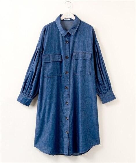 【大きいサイズ】 ランタンスリーブガウンワンピース【Blistorm】 ワンピース, plus size dress