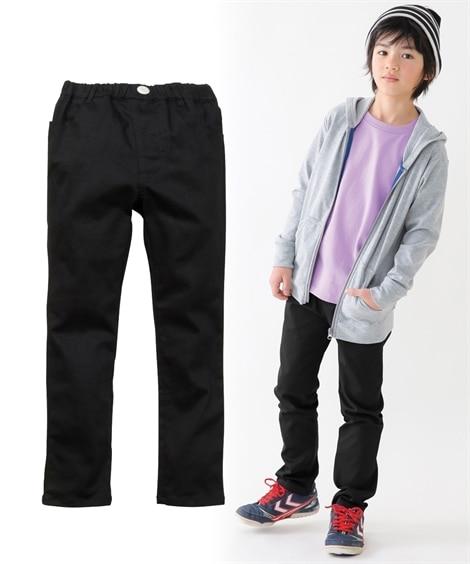 【子供服】 ストレッチツイルストレートパンツ(男の子 子供服...