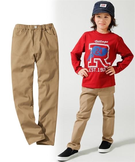 ストレッチツイルストレートパンツ(男の子 子供服。ジュニア服...