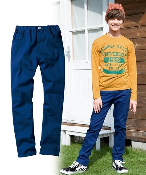 <ニッセン> ストレッチツイルストレートパンツ(男の子 子供服。ジュニア服) パンツ