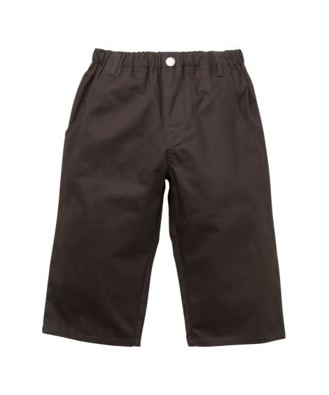 【子供服】 【もっとゆったりサイズ】6分丈ツイルパンツ(男の...