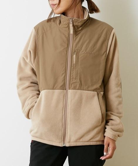 Marmot 保温・防風シェルパジャケット(男女兼用) 【レディーススポーツウェア】Sportswear
