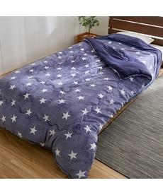 あったか起毛フランネルの掛け布団(星柄) 掛け布団の商品画像