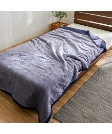 蓄熱わた入り なめらかボリューム2枚合わせ毛布 毛布・ブランケットの商品画像