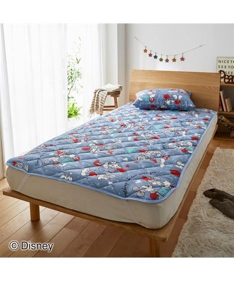 ディズニー/敷きパッド(ミッキー&ミニー柄) 敷きパッド・敷パッド, ベッドパッド, Bed pats(ニッセン、nissen)