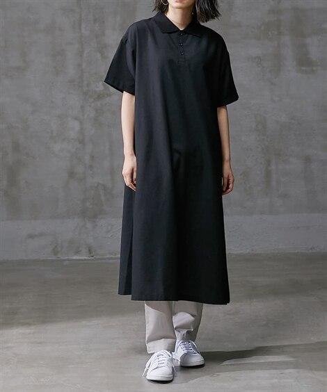 ポロ衿ワンピース (ワンピース)Dress, ?衣裙, 連衣...