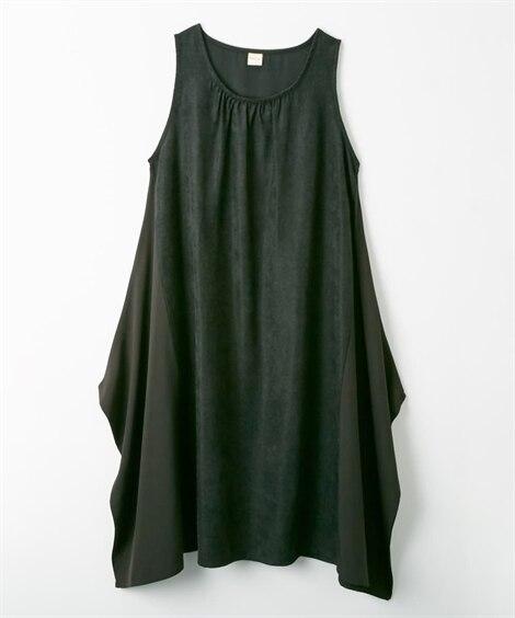 異素材切り替えジャンスカ (ジャンスカ)Skirts, 裙子
