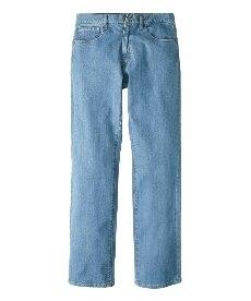<ニッセン>【紳士服】 ヘインズ(Hanes) ストレッチ5ポケットジーンズ(股下84cm) 大きいサイズメンズ メンズストレートジーンズ(デニム)画像
