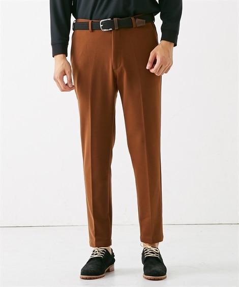 <ニッセン> 布帛見えする両面起毛カットソーセットアップパンツ スラックス Pants