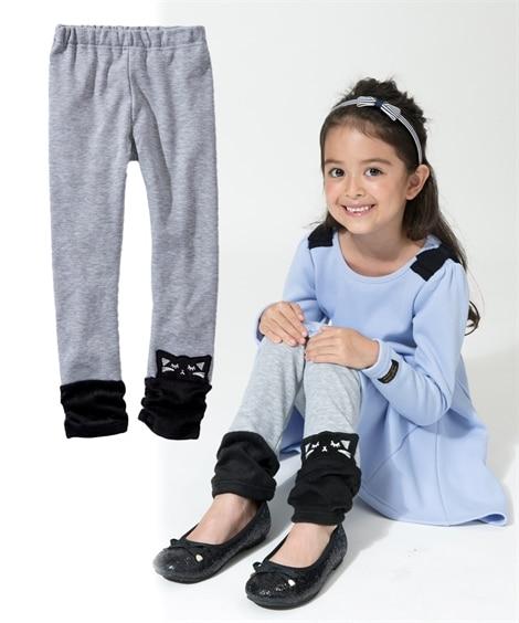 あったか裏シャギーレギンス(女の子 子供服。ジュニア服) レギンス, Kids' Leggings