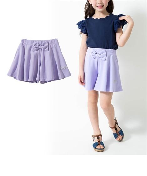スカート見えが可愛い♪カットソーキュロット(女の子 子供服)...