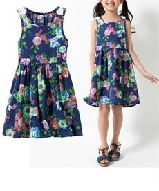<ニッセン> 上下セット(肩フリルブラウス+フリルパンツ)(女の子 子供服。ジュニア服) シャツ・ブラウス 2