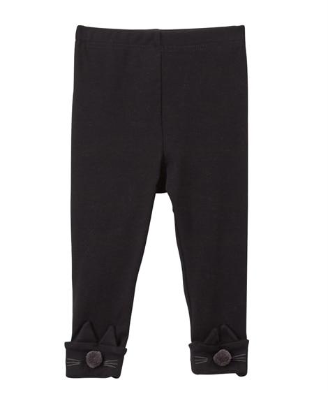 裾動物モチーフ レギンス(女の子 子供服。ベビー服) レギンス, Kids' Leggings