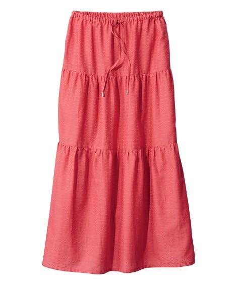 インド綿ロングスカート(薄手素材) (大きいサイズレディース...