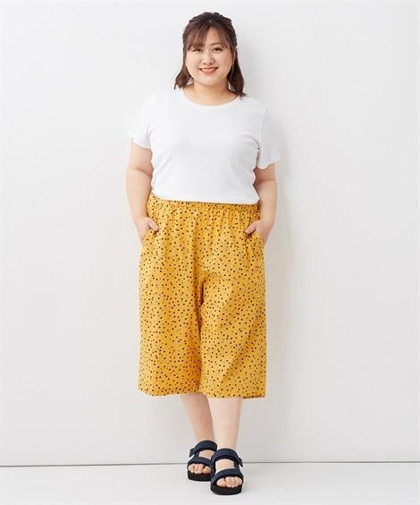 大きいサイズ 綿100%ステテコパンツ ,スマイルランド, パンツ, plus size pants