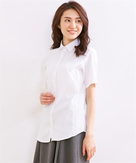 形態安定 ストレッチで動けるシャツ(吸汗速乾。UVカット) ...