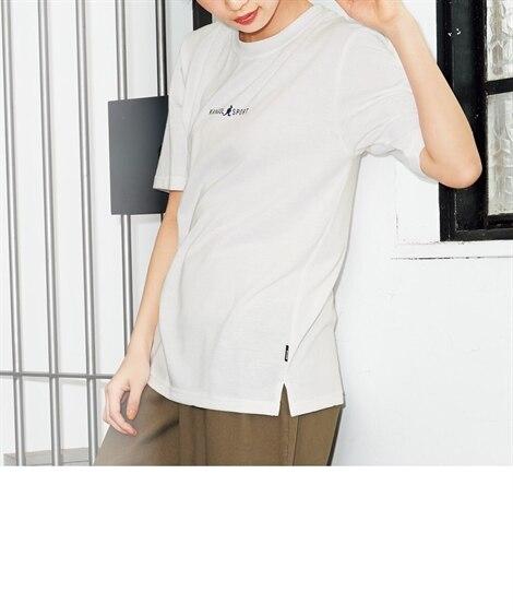 ロゴプリントTシャツ(KANGOL SPORT) (大きいサ...
