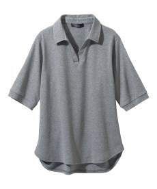 <ニッセン> レーヨン混プリントチュニックTシャツ (大きいサイズレディース)Tシャツ・カットソー 8