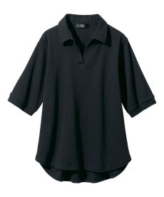 <ニッセン> レーヨン混プリントチュニックTシャツ (大きいサイズレディース)Tシャツ・カットソー 6
