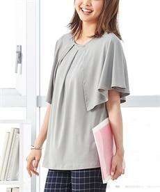 <ニッセン> レーヨン混プリントチュニックTシャツ (大きいサイズレディース)Tシャツ・カットソー 16