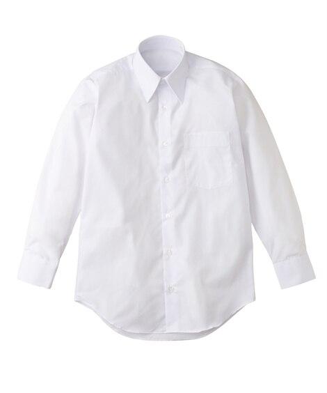 【ゆったりサイズ】長袖スクールシャツ(男の子 子供服 ジュニ...