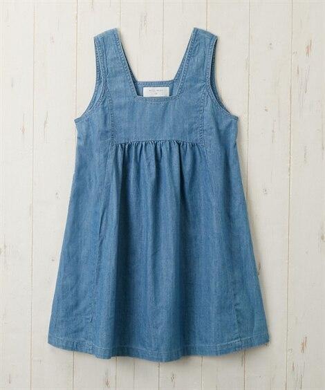【WILL MERY】ジャンパースカート(女の子 子供服) ...