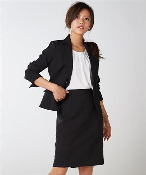 嬉しい選べる丈展開!洗える定番スカートスーツ(丈50cm) ...
