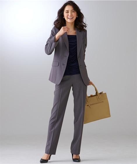 <ニッセン> トールサイズ 洗える令嬢スカートスーツ 入社式・リクルート・新社会人スーツ 価格:9925円商品 5