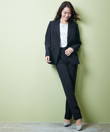 <ニッセン> トールサイズ 洗える令嬢スカートスーツ 入社式・リクルート・新社会人スーツ 価格:9925円商品 12