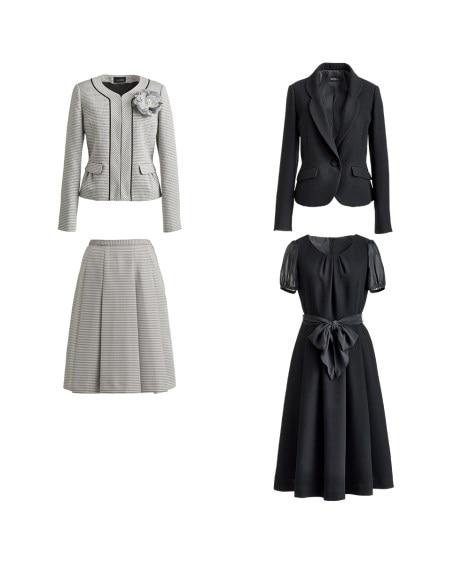 小さいサイズ 4点セット(ツィード調(ジャケット+スカート)...