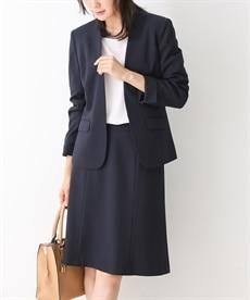 8eb43314ede40  変り織リスピィシリーズ すごく伸びる多機能セミフレアスカートスーツ