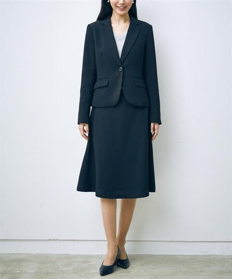 トールサイズ スカートスーツ(ジャケット+フレアスカート)(...